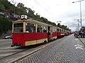Průvod tramvají 2015, 13b - tramvaj 2239 a 1523.jpg