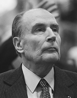 François Mitterrand 21st President of the French Republic