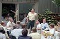 President Ronald Reagan Answering Questions During a Luncheon for Republican Members of Congress at Camp David - DPLA - 94fb7e785c7b09df85ef2701b18d8616.jpg
