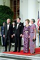 President Ronald Reagan and Nancy Reagan with Prime Minister Lee Kuan Yew and Kwa Geok Choo.jpg