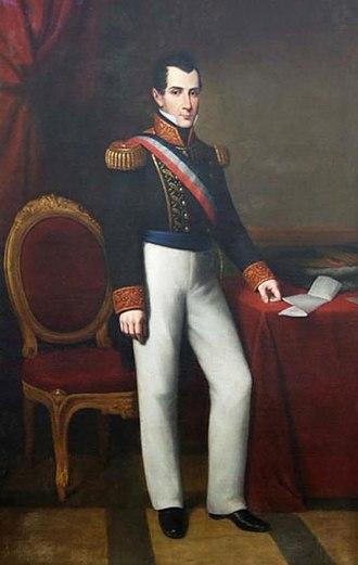 José Joaquín Prieto - Image: Presidente José Joaquín Prieto
