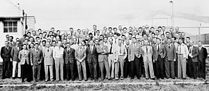 Operation Paperclip - A group of 104 rocket scientists (aerospace engineers) at Fort Bliss, Texas