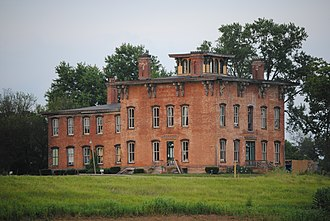 Cass Township, Muskingum County, Ohio - Prospect Place, built 1856
