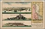 Prospect der Europaeischen Kuste und der darauf gelegen Dardanellen und Carte des Canals zwischen Europa und Asien von dem Eingange bey den Dardanellen bis zu Seinem Ausgangen in das Schwarze Meer.jpg