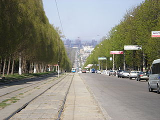 City in Dnipropetrovsk Oblast, Ukraine