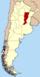 Lage der Provinz Santa Fe