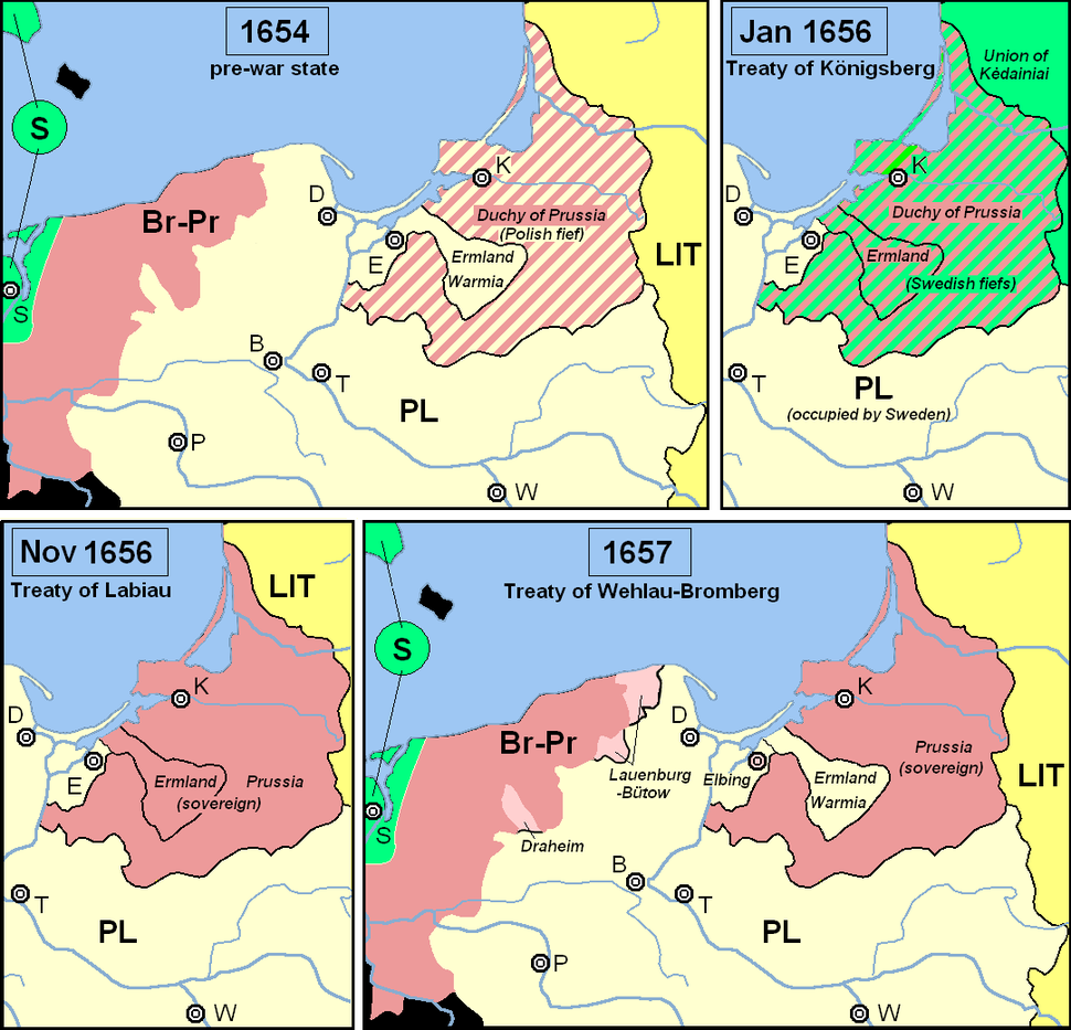 Prussia during the Second Northern War