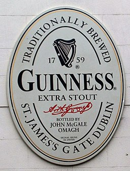 Pub plaque, Omagh - geograph.org.uk - 660876