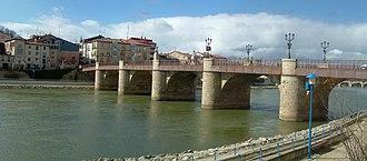 Miranda de Ebro - Image: Puente Carlos III Miranda