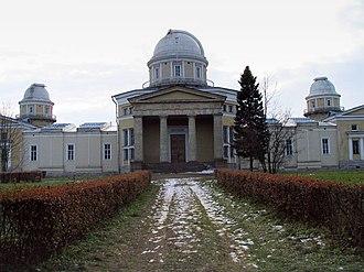 Alexander Brullov - Image: Pulkovo observatory