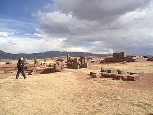Pumapunku - Stone blocks at Pumapunku