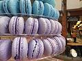Purple macarons (9577241951).jpg