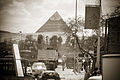 Pyramid of Khafre as seen from the streets of Turah district of Cairo. Egypt, North Africa.jpg