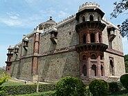 Qila-i-Kuhna back of mosque, Purana Qila, Delhi