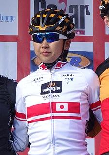 Mayuko Hagiwara Japanese racing cyclist