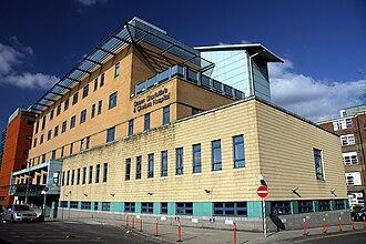 Queen Charlotte's and Chelsea Hospital - Queen Charlotte's and Chelsea Hospital main building.