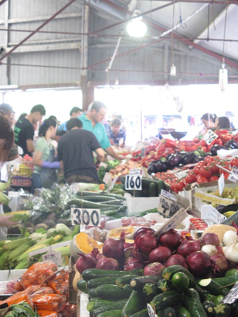 Queen Victoria Market Fresh Vegetables