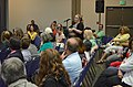 Questions and answers at the town hall meeting (9304573542).jpg