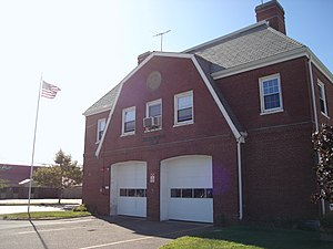 Quincy Point - Quincy Point Fire Station, entered into the National Register of Historic Places in 1994.