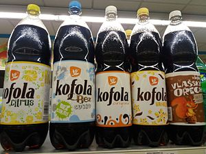 Kofola - Kofola Lemon, Sugar-Free, Original, Vanilla and Walnut