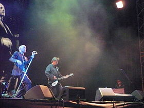 A banda em concerto, 2008