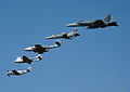 RAAF aircraft flying in formation - 2008.jpg
