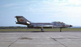 McDonnell F-101 Voodoo - Canadian CF-101 Voodoo in Bagotville, Summer 1962