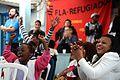 REFUGIADOS DO CONGO SE UNEM PARA TORCER PELOS JUDOCAS DA EQUIPE DE REFUGIADOS (28278847554).jpg