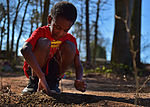 RES students plant trees for Earth Day 150422-F-NH180-002.jpg