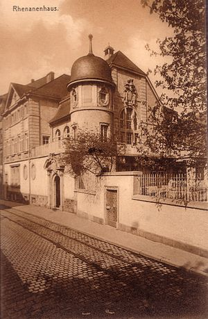 Corps Rhenania Heidelberg - Mansion of Corps Rhenania in Heidelberg