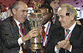 RIAN archive 519269 Kurban Berdyev and Mintimer Shaymiev during FC Rubin award ceremony.jpg