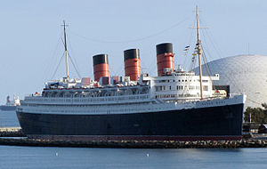 The picture is of a large luxury liner.