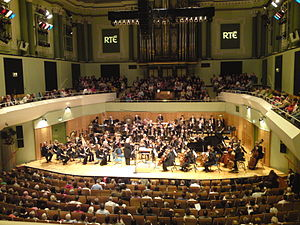 RTÉ Concert Orchestra performing in the Nation...