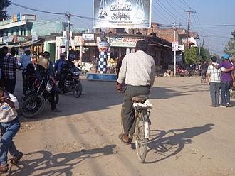 Gulariya - Market area in Radha Krishna Chok Gulariya