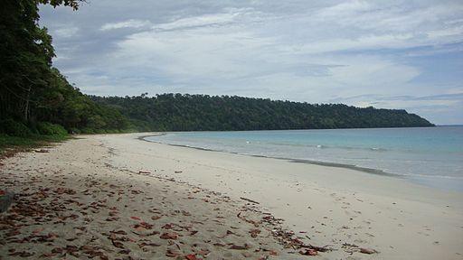 Radhanagar Beach, Havelock Island, May2010