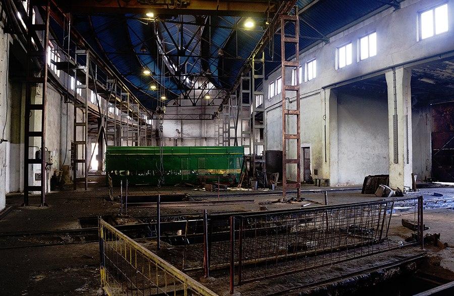 Radionica Železničke stanice u Nišu, unutrašnjost