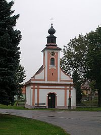 Radošovice : chapelle.