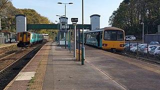 Radyr railway station Railway station in Cardiff, Wales