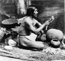 Description de l'image  Rafael, a Chumash who shared cultural knowledge with Anthropologists.jpg.