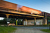 Railroad bridge Lange-Feld-Strasse Kirchrode Hanover Germany 02.jpg