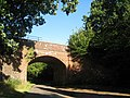 Railway bridge, Eight Acre Lane, Three Oaks, East Sussex - geograph.org.uk - 921810.jpg
