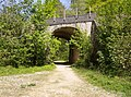 Railway bridge in Hailey Wood - geograph.org.uk - 465984.jpg