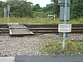 Railway crossing - geograph.org.uk - 502594.jpg
