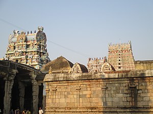 Rajagopalaswamy Temple, Mannargudi - Image of shrines in the temple