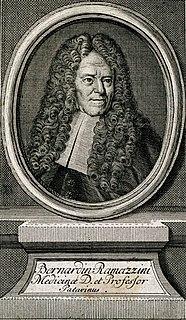 Bernardino Ramazzini Italian malariologist