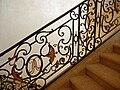 Rampe d'escalier - mairie de La Réole.jpg