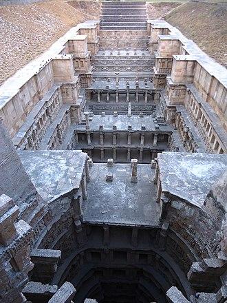 Rani ki vav - Rani Ki Vav, view from the top