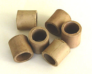 Raschig ring - Raschig rings one inch (25 mm) ceramic