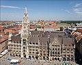 Rathaus and Marienplatz from Peterskirche - August 2006 edit01.jpg