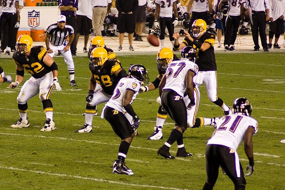 Ravens vs Steelers 2008 MNF 3